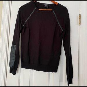 Armani exchange women's black sweater s small